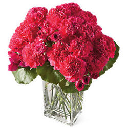Crimson Flower Bouquet