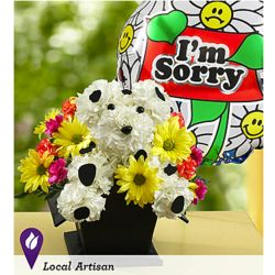 A-Dog-Able I'm Sorry Dalmation Bouquet