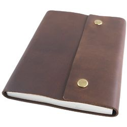 Writer's Log Large Leather Notebook