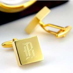 Personalized Brass Groomsmen Cufflinks