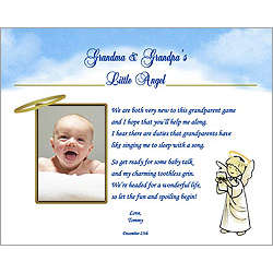 Personalized Poem for New Grandparent from Baby