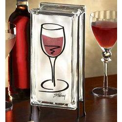 Wine Glass Glowblock®