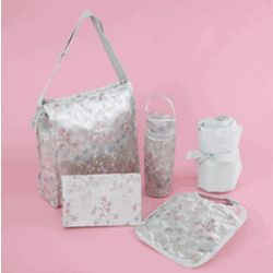 Asian Inspired Diaper Bag Gift Set