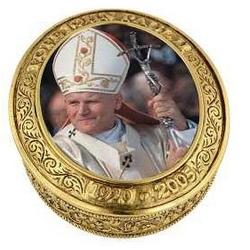 John Paul II Commemorative Rosary Box