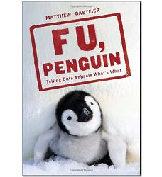 F U, Penguin Telling Cute Animals What's What Paperback Book