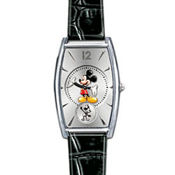 Disney Mickey Mouse Watch with Interchangeable Leather Watchbands