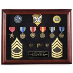 Cherry Finished Shadow Box