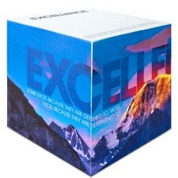 Excellence Mountain Sticky Notes