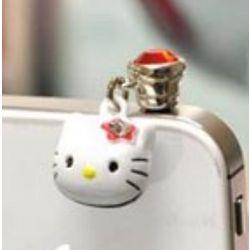 Hello Kitty 3.5mm Headphone Jack Charm