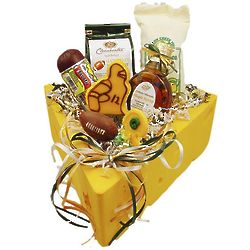 Cheese Head Game Day Hat Gift Box