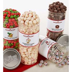 Seasonal Clear Favorites Winter Popcorn