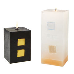 Glass and Mirror Candle