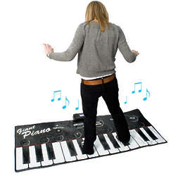 Gigantic Recordable Piano Keyboard
