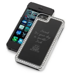Surrounded Sparkle Black iPhone 5 Case