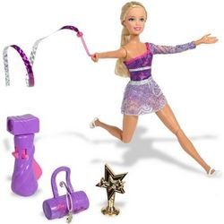 Gymnastic Divas Twirl Team Barbie