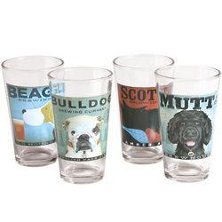 Dogs Rock Brew Pub Pint Glasses