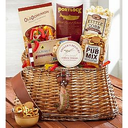 Fisherman's Favorite Snacks Gift Basket