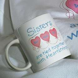 Sisters and Friends Heartstrings Mugs