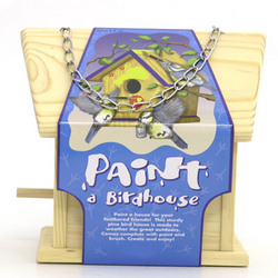 Paint-A-Bird House Kit
