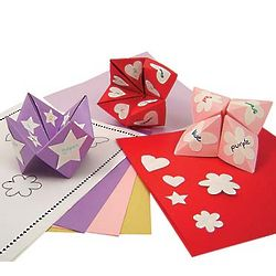 Cootie Catcher Valentine Kit
