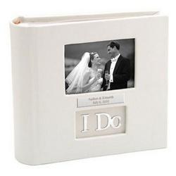 Personalized 'I Do' Wedding Photo Album