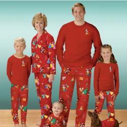 disney character christmas pajamas