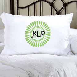 Personalized Felicity Bouncy Bouquet Pillow Case