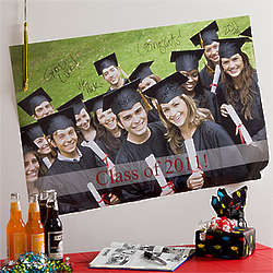 Personalized Graduation Photo Poster