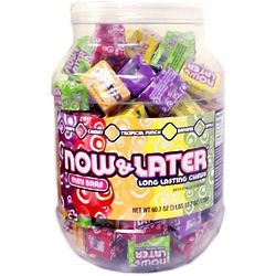 Now and Later Mini Bars Assorted Tub