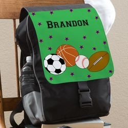 Personalized Boy's Sports Backpack