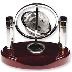 Magellan Globe and Clock