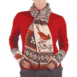 Christmas Cardinal Scarf