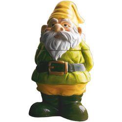 Handpainted Ceramic Gnome Cookie Jar