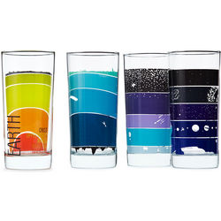 Earth Science Drinking Glasses