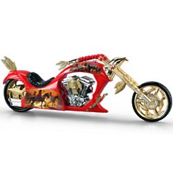 Noble Guardian Artistic Chopper Figurine