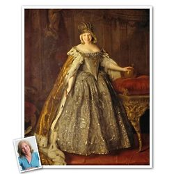 Classic Painting Empress Anna Personalized Print