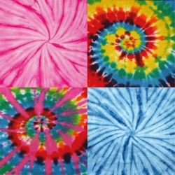 Tie Dye Infant Receiving Blanket