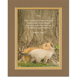 Personalized Sister Poem on Kittens Print