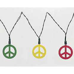 Peace Sign Party Lights