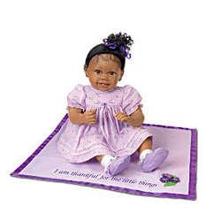 Ayana African-American Lifelike Baby Girl Doll