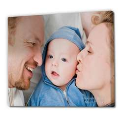 Photo to Color Canvas Wall Art