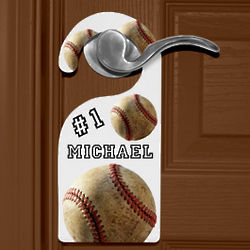 All Star Personalized Door Knob Hanger