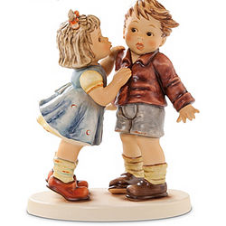 Fist Kiss Hummel Figurine