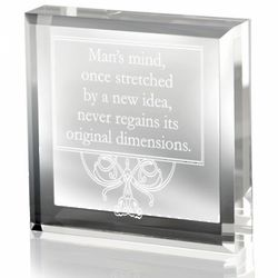 Mind of Man Paperweight