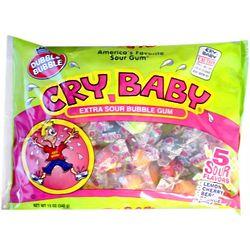 Cry Baby Sour Bubble Gum