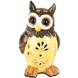 Solar Light Garden Owl