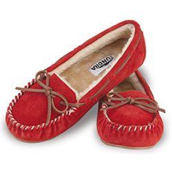 Merry Red Moccasins