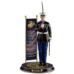 Backbone of the Corps USMC Sculpture