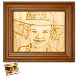 Personalized Wood Engraving Artwork
