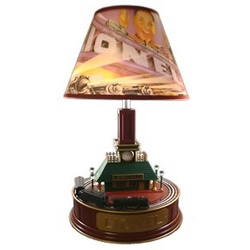 Lionel Animated Train Station Lamp Findgift Com